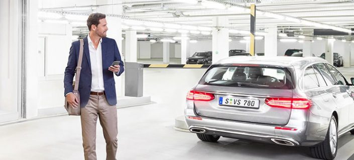 Bosch parkt selbständig ein