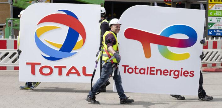 Total ist jetzt TotalEnergies